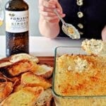 Fonseca White Port with Crab Dip