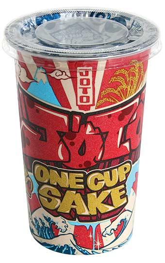 Joto One Cup sake