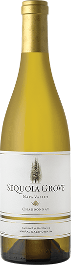 Sequoia Grove Chardonnay wine bottle