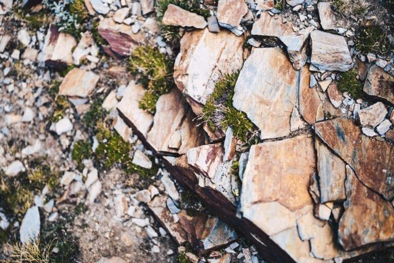Slate rocks
