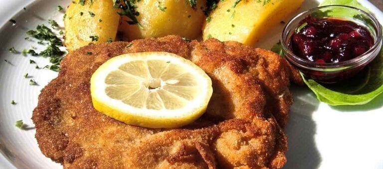 Dish of Wiener Schnitzel