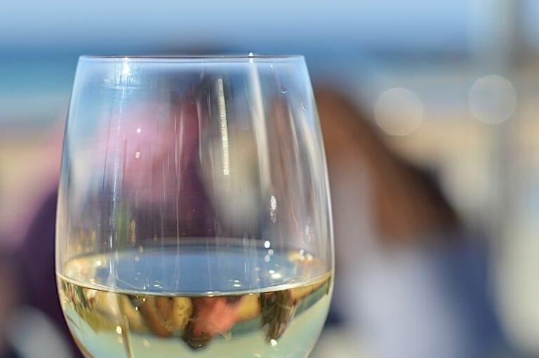 White wine, Pinot Grigio, Italian, Glass