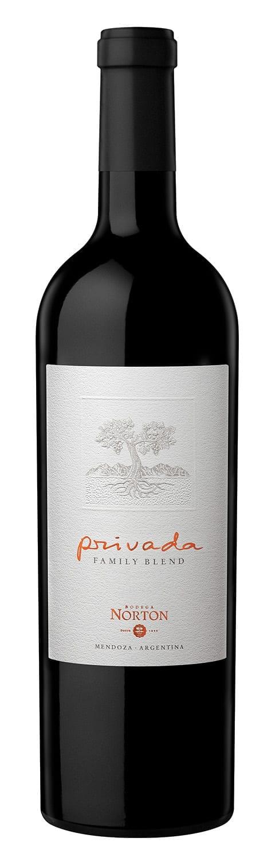 Red wine bottle, Argentina, Malbec, Merlot, Cabernet Sauvignon, Norton Privada Family Blend