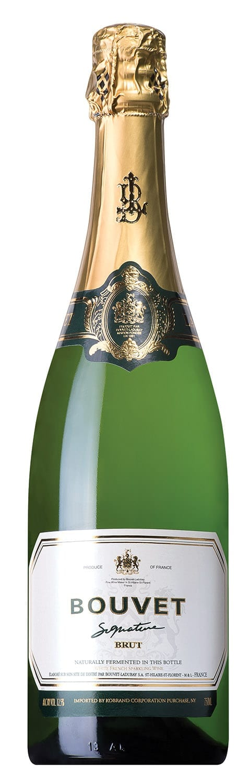 Bouvet Ladubay Signature Brut, bottle image, sparkling French wine