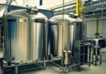 Steel tanks fermentation