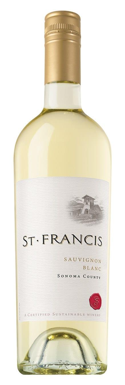 St. Francis Sonoma County Sauvignon Blanc Bottle Image
