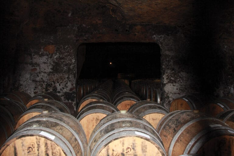 Wine cellar, sparkling, Loire Valley, france, Bouvet Ladubay