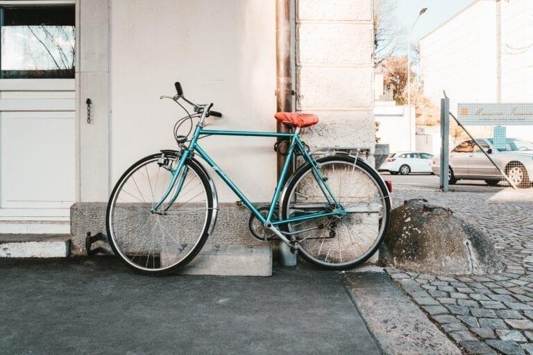 Bike in city