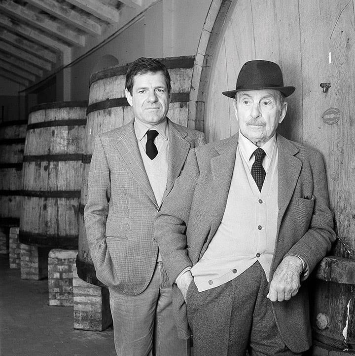 Nicolò Incisa della Rocchetta and Mario Incisa della Rochetta, Sassicaia, winery