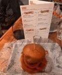 Bareburger, red wine