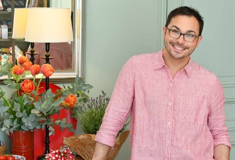 Home entertaining expert Marc Sievers