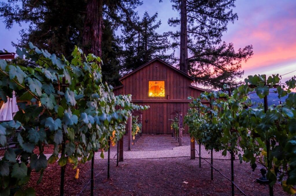 Sequoia Grove winery and vineyard