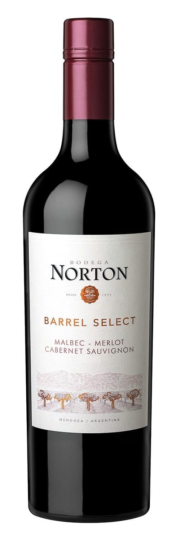 Norton Barrel Select Red Blend Bottle Image