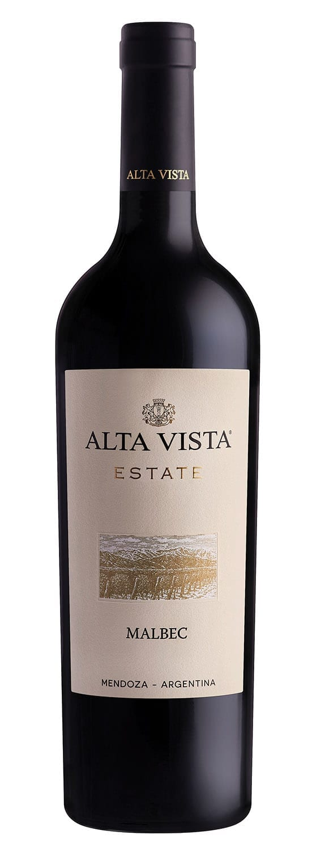 Alta Vista Estate Malbec Bottle Image