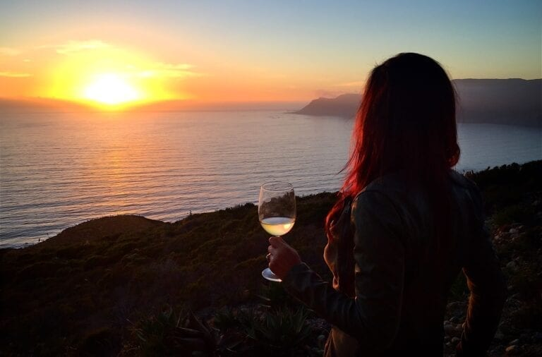 Wine sunset. Photo: Michael Foley, CC