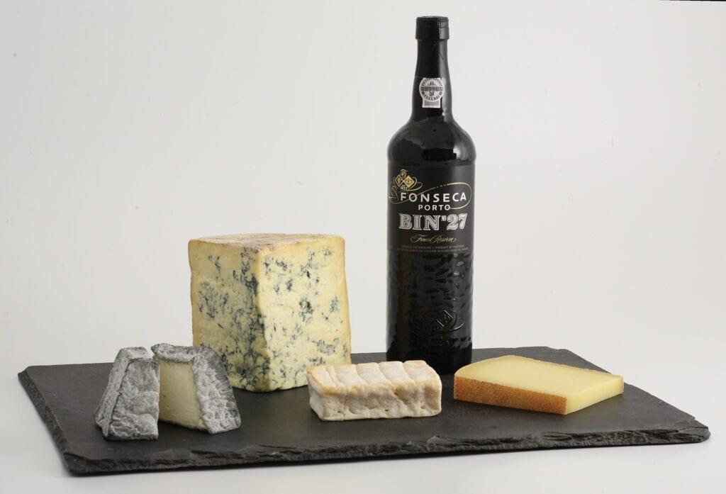 Fonseca Port Bin 27, Cheese plate