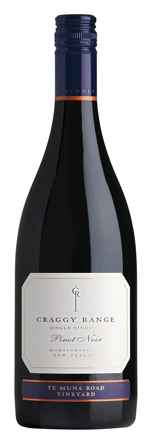 Craggy Range Pinot Noir Te Muna Road Vineyards, bottle image