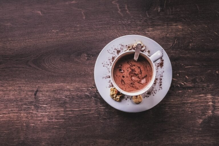 Hot chocolate. Photo by Jonny Caspari, Unsplash