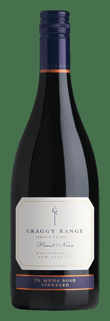Craggy Range, red wine, bottle, Pinot Noir, New Zealand
