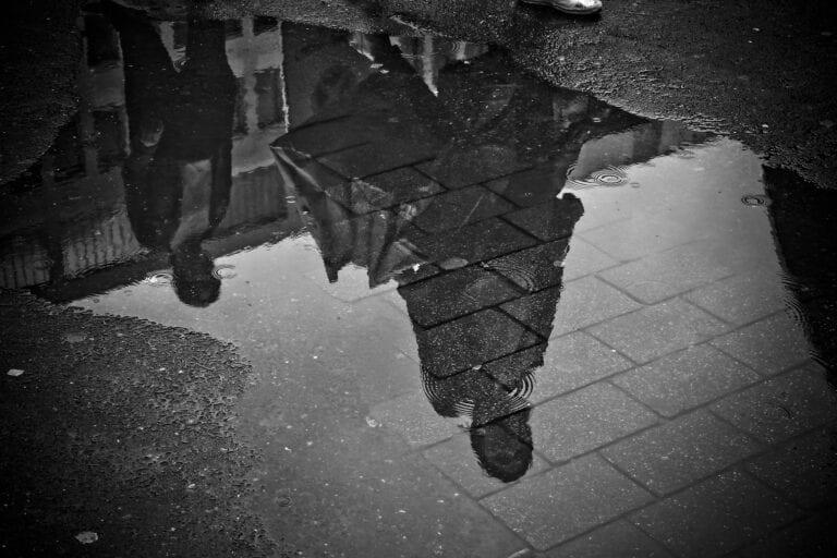 Rain, reflection