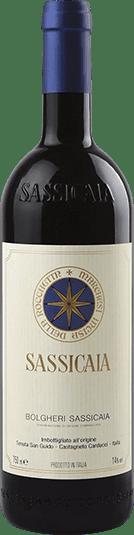 Tenuta San Guido Sassicaia Super Tuscan Italian red wine bottle