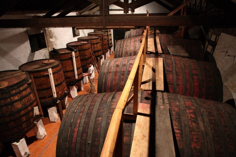 Taylor Fladgate, port wine, portugal, barrels, Vargellas